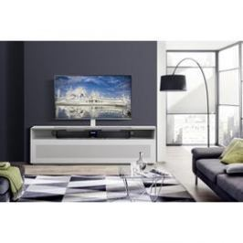 MOBILE TV 16040H GLASS WH Bianco
