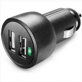 USB Car charger Dual Ultra Nero