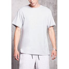 Double-Layered Raw-Cut Tee