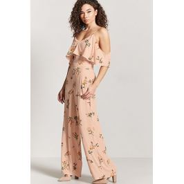 Contemporary Floral Jumpsuit