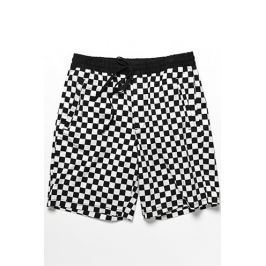 Checkered Print Shorts