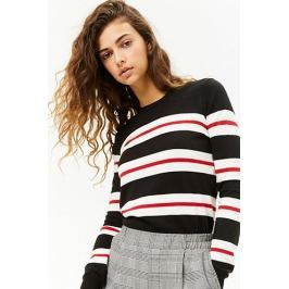 Multicolor Striped Knit Sweater
