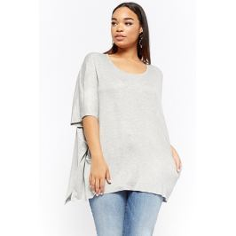 Plus Size Relaxed Scoop Neck Top