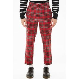 Mickey Mouse Tartan Plaid Ankle Pants