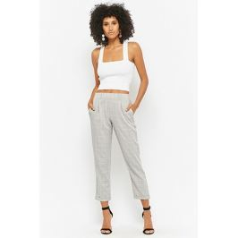 Grid Ankle Pants