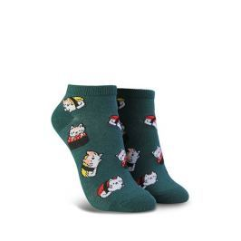 Sushi Cat Graphic Ankle Socks