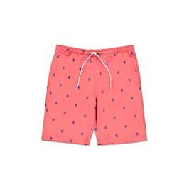 Onia Rose Embroidered Swim Trunks
