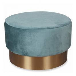 Pouf in velluto