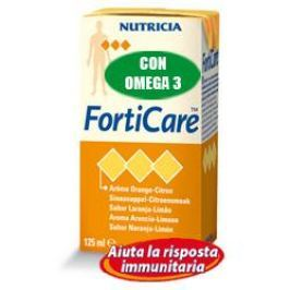 FORTICARE Pesca/Ginger 4x125ml