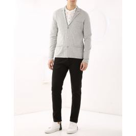 Cardigan 3 Bottoni Con Revers
