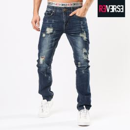 Jeans destroyed effetto pieghe - 38 Men's Trousers