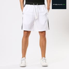 Shorts sportivi in design a contrasto - L