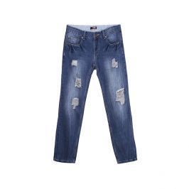Jeans slim fit destroyed style - 32