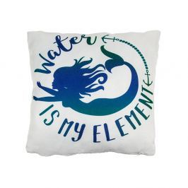 Cuscino decorativo sirenetta - Water is my