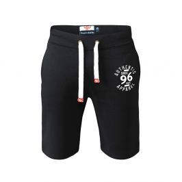 Pantaloncini di felpa D555 Authentic apparel - 5XL - Navy