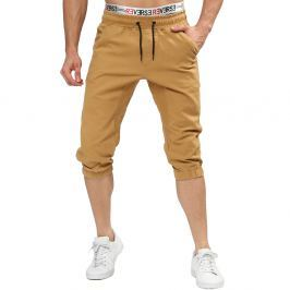 Pantaloncini joggers chino con coulisse - XL - Cammello